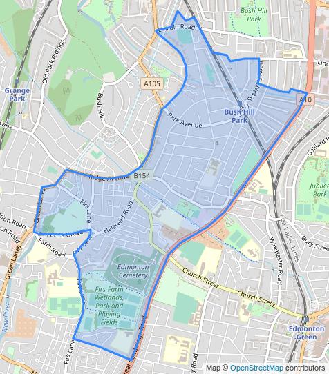 Enfield, Bush Hill Park
